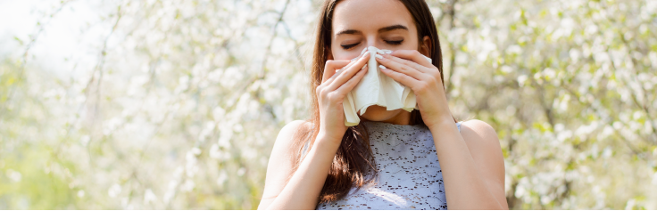 Les allergies du printemps